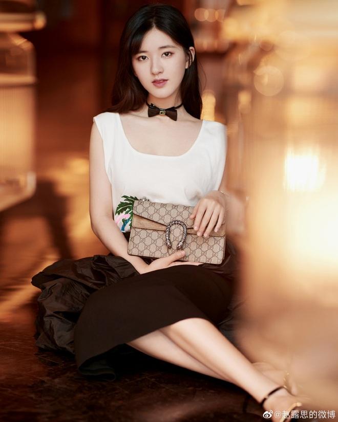 Ăn nhầm phấn trang điểm, Triệu Lộ Tư dở khóc dở cười khi lên thẳng top 1 Weibo với gương mặt sưng húp - Ảnh 5.