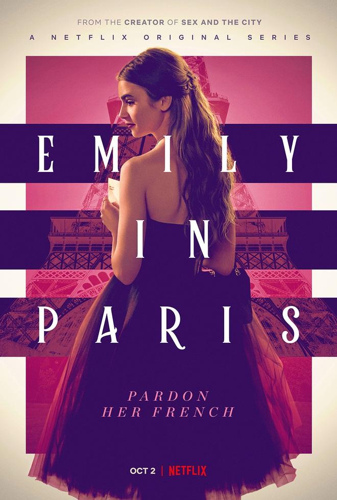 Emily Ở Paris: Đằng sau kinh đô hoa lệ là cốt truyện khó cảm, may thay có Lily Collins đẹp điên đảo cứu vớt mọi ánh nhìn - Ảnh 1.