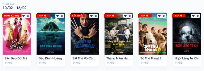 Phim rạp chen nhau phát hành ngày Valentine, quá nửa khán giả chọn ở nhà phòng dịch - ảnh 1