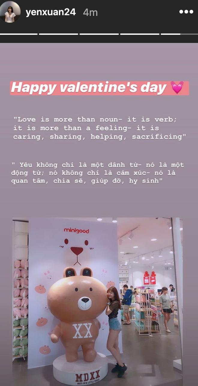 Yến Xuân khoe bữa sáng ngày Valentine bên Văn Lâm cùng lời ngọt ngào: Yêu là quan tâm, chia sẻ, giúp đỡ và hy sinh - ảnh 2
