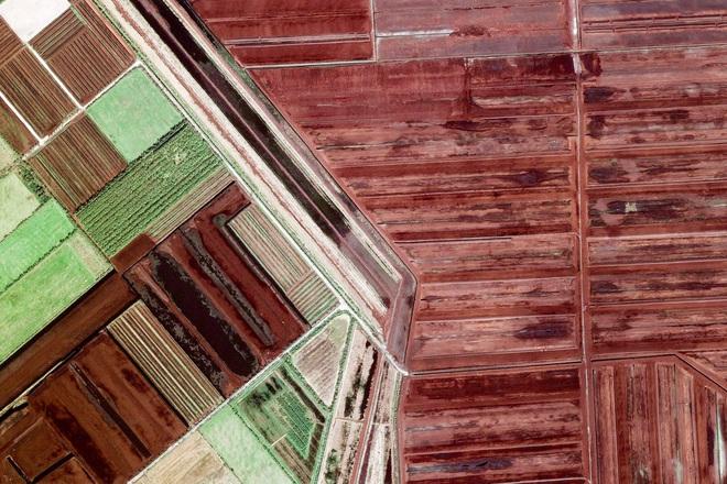 10 ảnh vệ tinh đẹp nao lòng từ Google Earth: Sự sắp đặt thần kỳ của tạo hóa xứng tầm tác phẩm triệu đô - ảnh 6