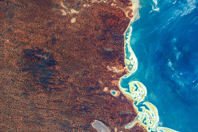 10 ảnh vệ tinh đẹp nao lòng từ Google Earth: Sự sắp đặt thần kỳ của tạo hóa xứng tầm tác phẩm triệu đô - ảnh 3