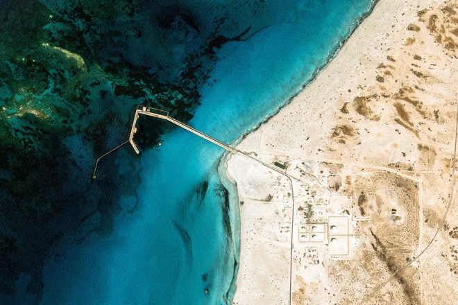 10 ảnh vệ tinh đẹp nao lòng từ Google Earth: Sự sắp đặt thần kỳ của tạo hóa xứng tầm tác phẩm triệu đô - ảnh 2