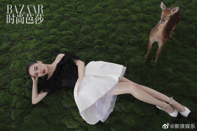 Lưu Thi Thi và bộ ảnh tạp chí đầu tiên sau sinh quý tử: Chẳng ai tin đây là bà mẹ bỉm sữa vì sắc vóc quá nuột - ảnh 6
