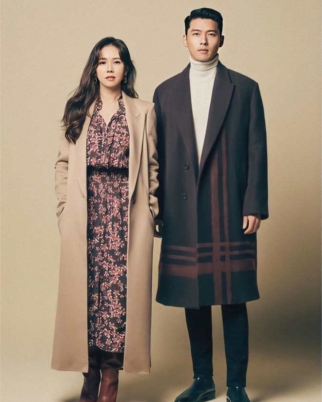 Ghép thử hình Hyun Bin và Son Ye Jin, ai ngờ fan phát hiện cặp đôi có tướng phu thê: Ảnh hồi bé còn gây choáng hơn! - ảnh 3