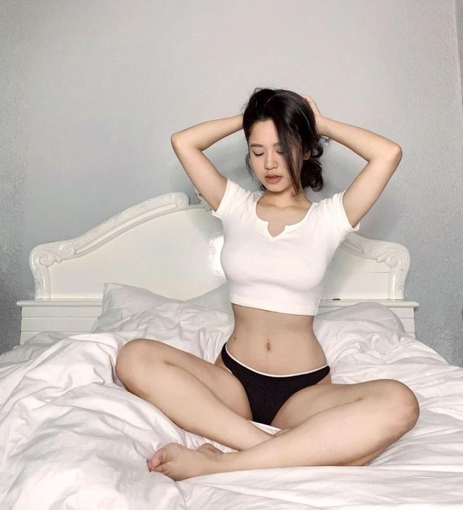 Nhìn mà thèm vòng eo siêu thực của hội hot girl: Võ Ngọc Trân, Linh Ka hay Hàn Hằng - ai mới thật sự bén như cái chén? - ảnh 14