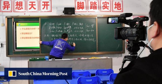 Được nghỉ học do virus rồi lại phải học online, học sinh Trung Quốc kéo đàn kéo đống vào rate 1 sao cho bõ tức - ảnh 2