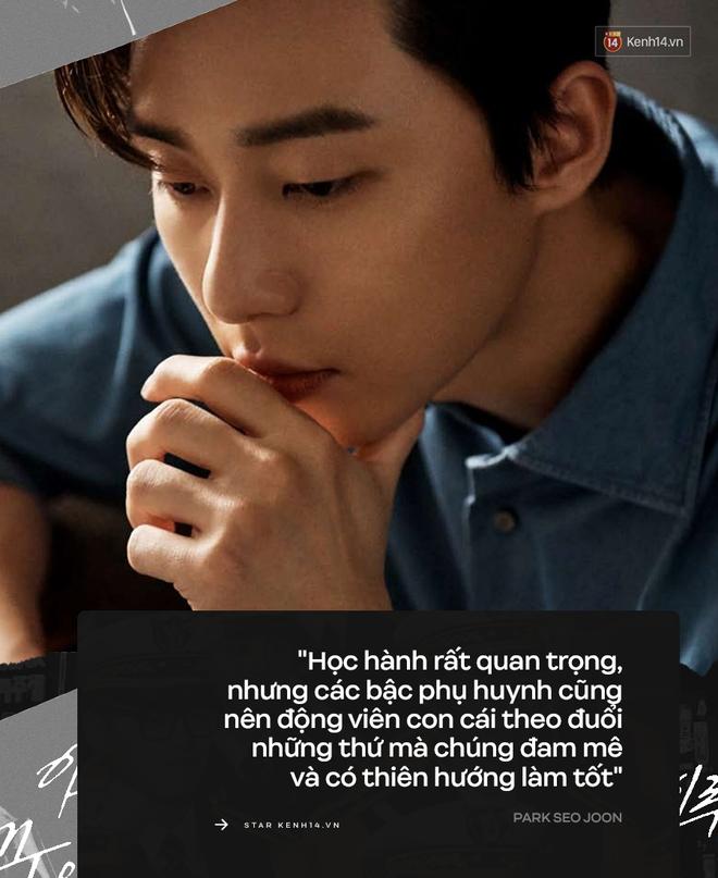 Park Seo Joon: Kẻ cố chấp không bước vào làng giải trí vì tiền và cái nấc trong 6 chữ Con trai bố là tuyệt nhất đầy nước mắt - ảnh 3