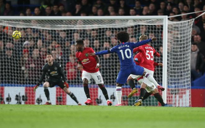 VAR hai lần tước bàn thắng, Chelsea nhận thất bại cay đắng ngay trên sân nhà trước Manchester United - Ảnh 2.