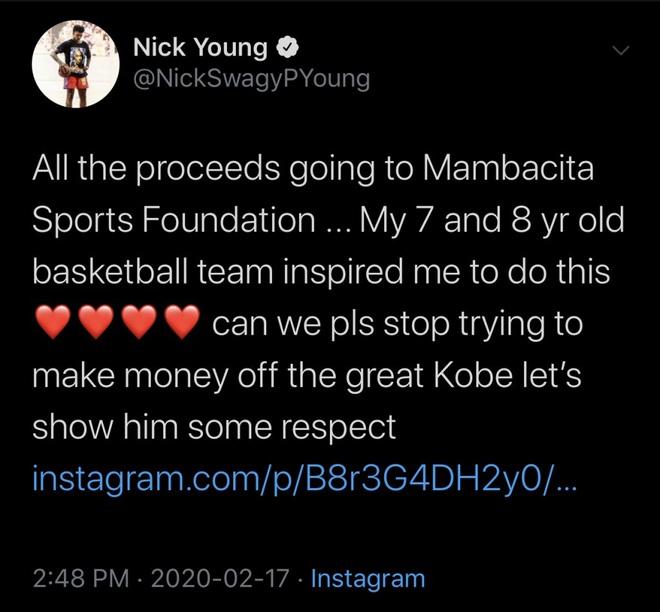 Phốt căng của cựu sao bóng rổ: Được tặng áo dùng để tri ân Kobe Bryant nhưng lại đem bán trên MXH còn nhận luôn mình là người thiết kế - ảnh 4