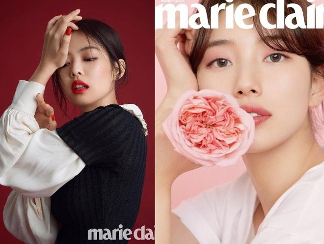 Vừa tung bộ ảnh tạp chí mới, Suzy đã bị tố bắt chước kiểu môi hở răng lạnh của Jennie (BLACKPINK): Liệu có đúng là copy? - ảnh 5