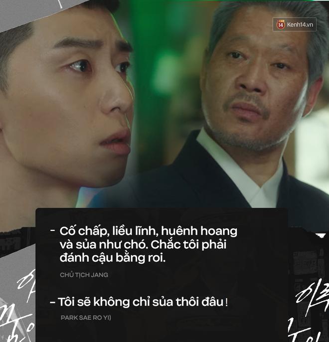 14 câu thoại ghim vào đầu ở Tầng Lớp Itaewon tập 7: Đừng có đùa, tôi sẽ không chỉ sủa thôi đâu! - ảnh 3