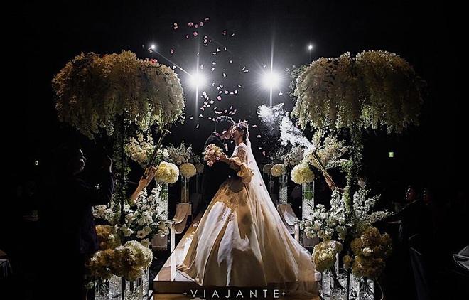 Sao nữ vô danh bỗng nổi như hiện tuợng nhờ bộ ảnh cưới đẹp như cổ tích: Nhìn váy cưới, quy mô hôn lễ là biết không phải dạng vừa! - ảnh 4