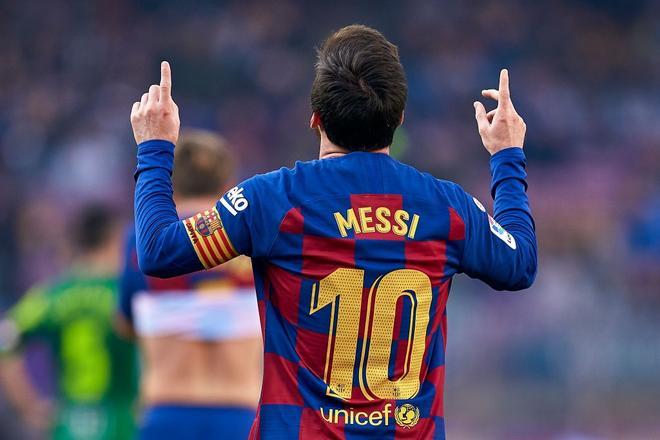 Sau mạch tịt ngòi dài nhất suốt 6 năm qua, Messi bùng nổ với 4 bàn thắng để đạt cột mốc vô tiền khoáng hậu trong lịch sử bóng đá thế giới - ảnh 5