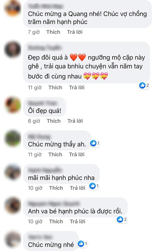 Lương Bằng Quang đăng ảnh cưới bên Ngân 98, netizen ồ ạt chúc mừng nhưng vẫn bán tín bán nghi - ảnh 2