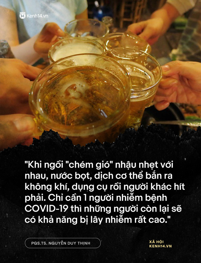 """PGS.TS. Nguyễn Duy Thịnh: Tụ tập nhậu nhẹt, """"chém gió"""" là điều nên bỏ, đó mới là nguyên nhân chính gây lây nhiễm trong bữa ăn chứ không phải do vấn đề ăn! - Ảnh 6."""