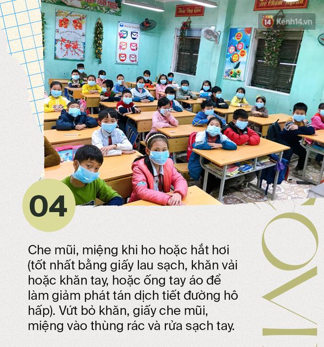 Bộ Y tế: Khuyến cáo những việc học sinh cần làm tại nhà hằng ngày để phòng tránh mắc dịch bệnh Covid-19 - Ảnh 4.