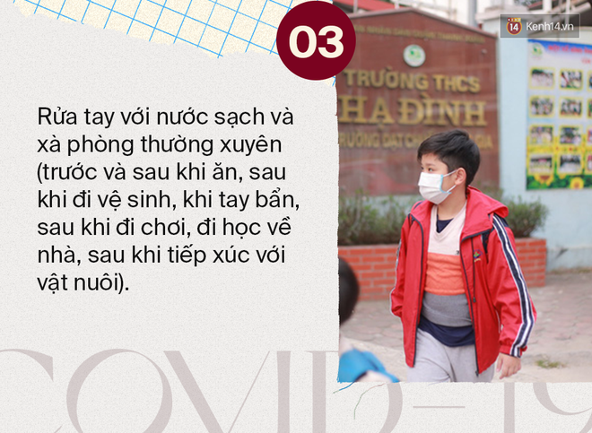 Bộ Y tế: Khuyến cáo những việc học sinh cần làm tại nhà hằng ngày để phòng tránh mắc dịch bệnh Covid-19 - Ảnh 3.