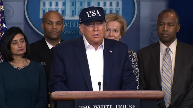 Tổng thống Trump tuyên bố đã làm xét nghiệm virus corona - Ảnh 1.
