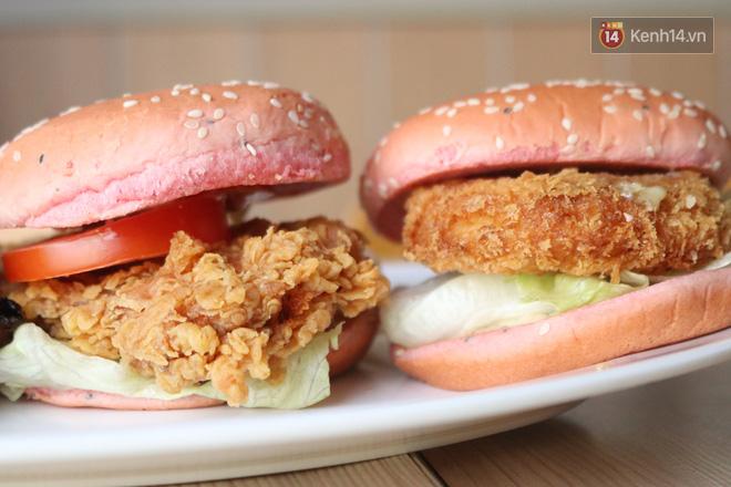 """Review cực nhanh """"siêu phẩm"""" burger thanh long mới toanh của KFC: Hương vị liệu có gì khác biệt so với loại burger thông thường? - Ảnh 5."""