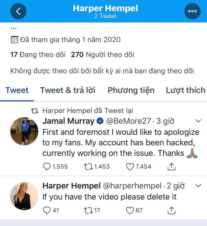 Hớ hênh để mất tài khoản Instagram, sao bóng rổ cùng bạn gái xinh đẹp bị lộ clip nóng - Ảnh 1.