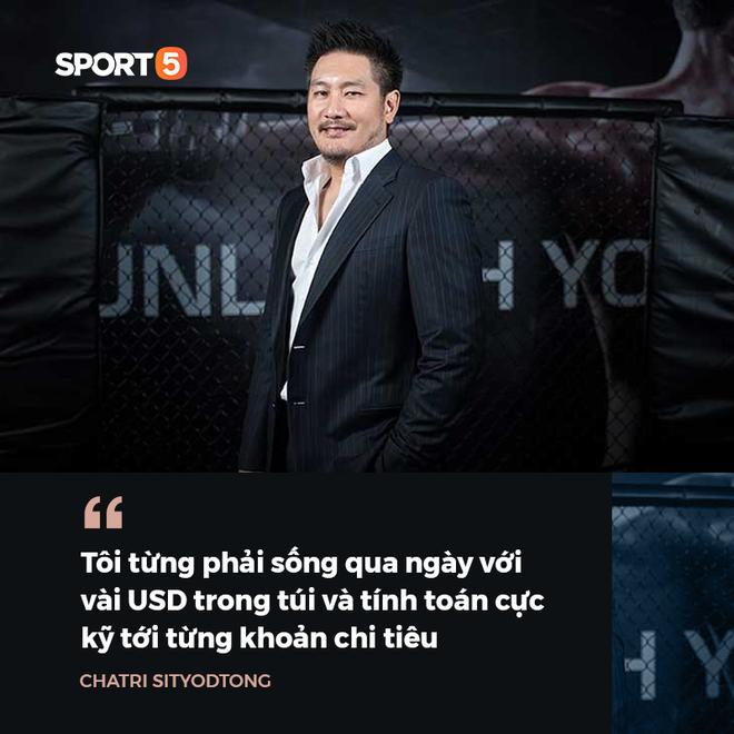 Chuyện chưa kể về ông trùm của làng võ thế giới Chatri Sityodtong: Cậu ấm phải đi lên từ hai bàn tay trắng và dấu ấn mang tên ONE Championship - Ảnh 2.