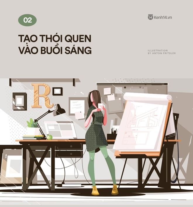 Làm việc tại nhà (#workfromhome) mùa dịch: 20 cách đưa bản thân mình vào tự giác, kỷ luật và không bị áp lực - Ảnh 2.