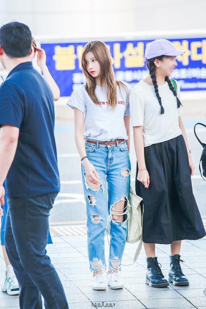 Dàn mỹ nhân Kpop khi diện quần jeans áo trắng: Thước đo nhan sắc chuẩn là đây, một mỹ nhân nhờ vậy mà bỗng nổi sau 1 đêm - Ảnh 14.