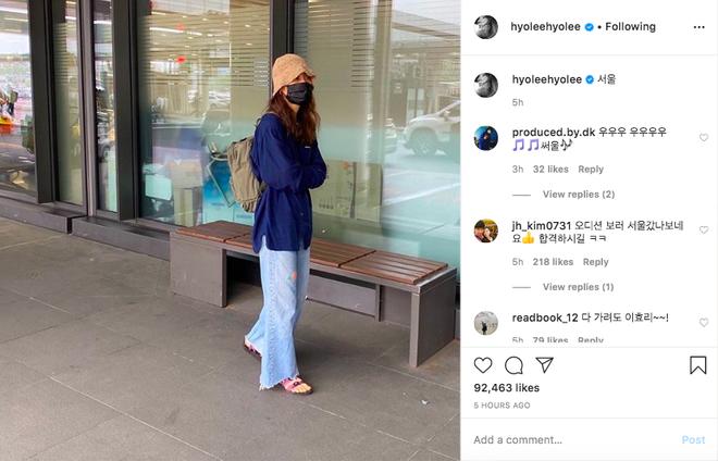 Lee Hyori đăng 1 bức ảnh ăn mặc xuề xoà mà lên top 1 Naver hôm nay, chú thích ngắn gọn Seoul đã hé lộ tất cả? - Ảnh 3.