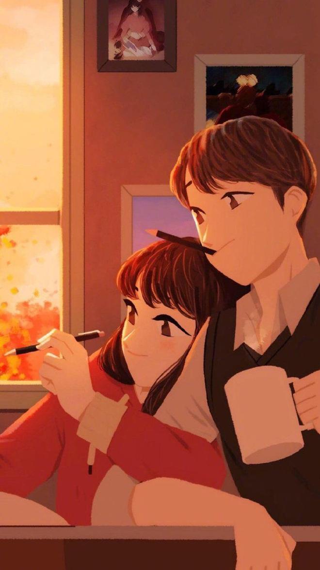 Bộ tranh: Lãng mạn thực ra không hề khó kiếm, quan trọng là bạn có người để thích chưa? - Ảnh 3.