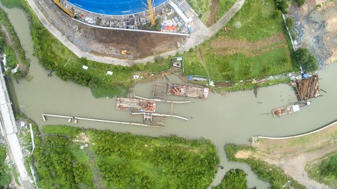Toàn cảnh công trình chống ngập 10.000 tỷ đồng sắp hoàn thành sau 4 năm thi công ở Sài Gòn - Ảnh 24.