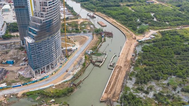 Toàn cảnh công trình chống ngập 10.000 tỷ đồng sắp hoàn thành sau 4 năm thi công ở Sài Gòn - Ảnh 21.