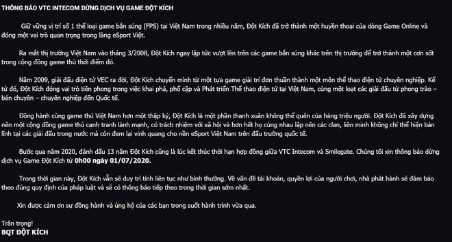 Vì sao tựa game 12 năm tuổi Đột Kích phải sống lay lắt rồi bị dừng luôn dịch vụ tại Việt Nam? - Ảnh 2.