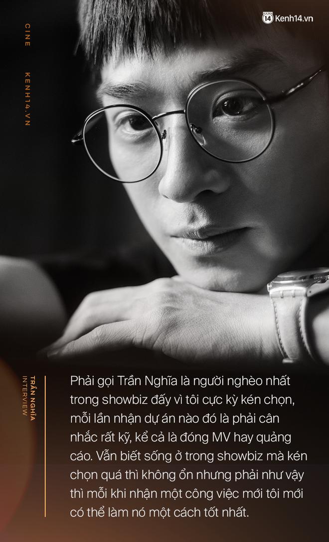 Trần Nghĩa: Sau Mắt Biếc, tôi trưởng thành hơn nhưng vẫn là chàng trai nghèo nhất showbiz Việt đấy! - Ảnh 13.