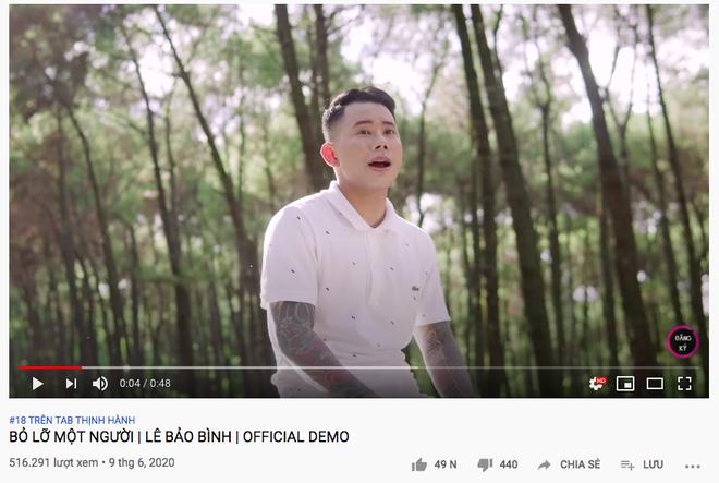 Chỉ vừa tung bản demo, nam ca sĩ Vpop đã vượt mặt cả Bích Phương lẫn siêu phẩm của Lady Gaga và BLACKPINK trên top trending Youtube - Ảnh 2.