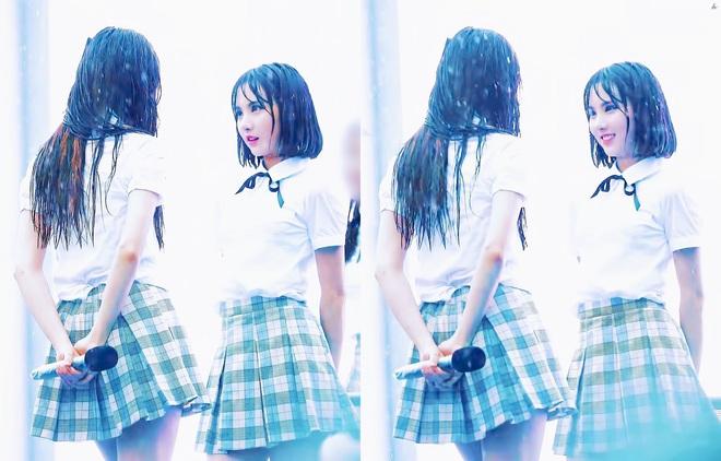 Khi idol Kpop biểu diễn dưới mưa: Người có sân khấu huyền thoại, kẻ thu về một đống meme hài hước được fan tích cực nhai đi nhai lại - Ảnh 11.