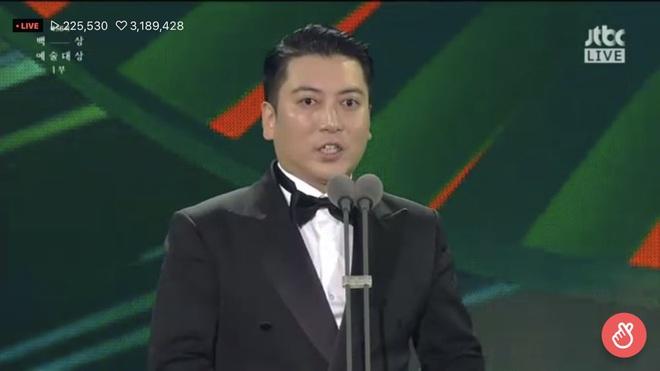 Baeksang 2020 hạng mục điện ảnh: Hươu cao cổ Lee Kwang Soo tạo sóng với giải hot, trùm Parasite giật cúp Daesang - Ảnh 8.
