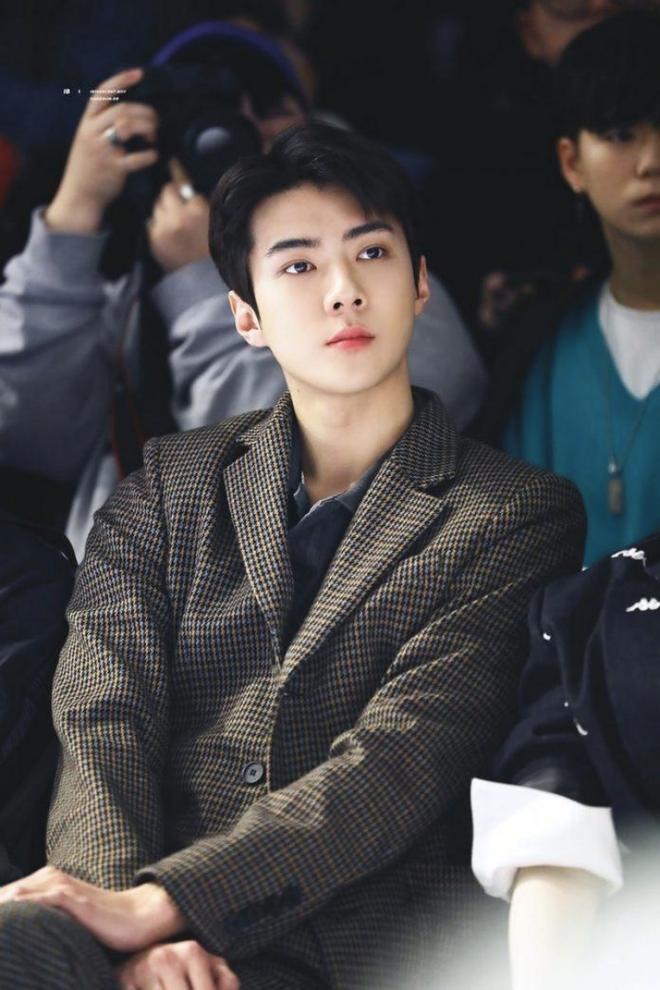 Nhan sắc của người được SM tuyển hụt trên phố Jin (BTS) và người được chọn trên đường Sehun (EXO): Toàn mỹ nam cực phẩm, khí chất như tổng tài - Ảnh 11.
