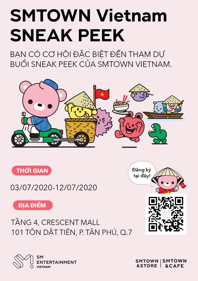Hé lộ hình ảnh đầu tiên của SMTOWN tại Việt Nam cùng loạt sự kiện trước ngày khai trương, fan Việt sắp có dịp gặp các idol ngoài đời? - Ảnh 4.