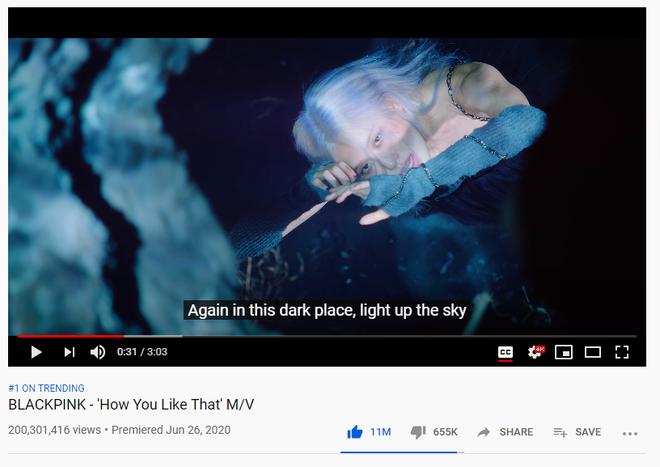 Vượt mặt Taylor Swift và Adele, How You Like That của BLACKPINK trở thành MV cán mốc 200 triệu view nhanh nhất lịch sử - Ảnh 1.