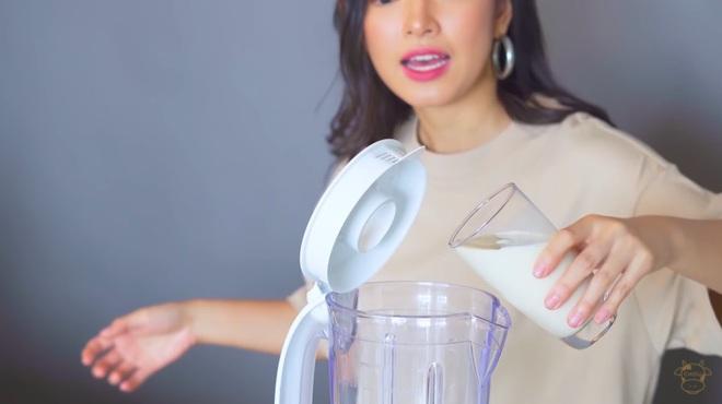 Châu Bùi thị phạm 3 món sinh tố rau xanh thay bữa chính mà vẫn đầy đủ dưỡng chất: Binz mà hẹn hò với Châu Bùi thật thì kiểu gì cũng lây lối sống healthy của cô nàng - Ảnh 5.