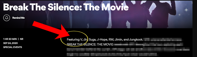 Nổi nhất nhì nhóm nhưng V tiếp tục bị bỏ quên trong phim tài liệu mới khiến ARMY náo loạn Twitter, phẫn nộ khẳng định BTS có 7 người! - Ảnh 2.