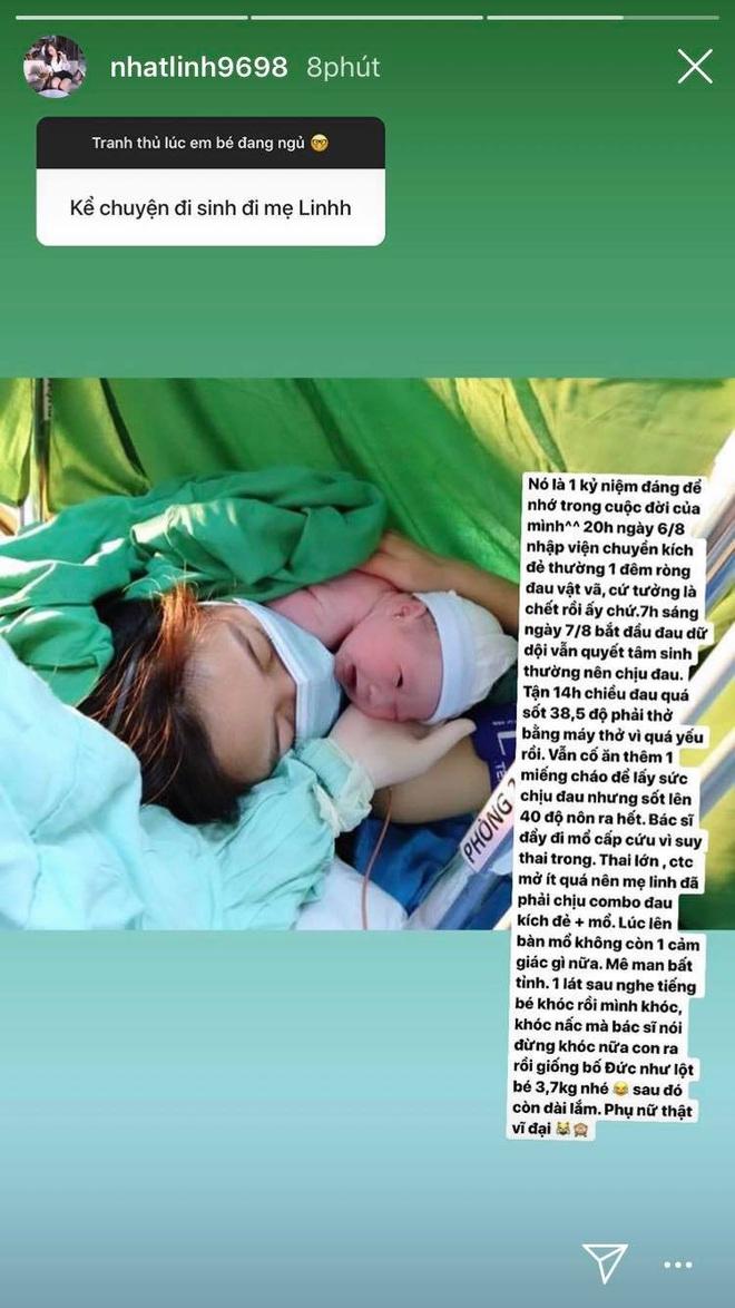 Vợ Văn Đức kể chuyện khi sinh em bé: Đau tưởng chết, phải mổ cấp cứu,... nhưng nghe tiếng con khóc liền rơi nước mắt vì hạnh phúc - Ảnh 1.