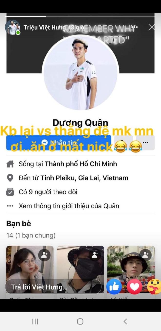 Hàng loạt cầu thủ bị mất tài khoản facebook chỉ trong một ngày, có người đang là tuyển thủ U22 Việt Nam 1