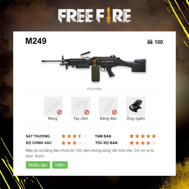 Free Fire: Bật mí 7 khẩu súng mạnh nhất phiên bản OB23 giúp game thủ leo rank vèo vèo! - Ảnh 2.