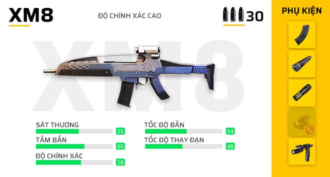 Free Fire: Bật mí 7 khẩu súng mạnh nhất phiên bản OB23 giúp game thủ leo rank vèo vèo! - Ảnh 7.