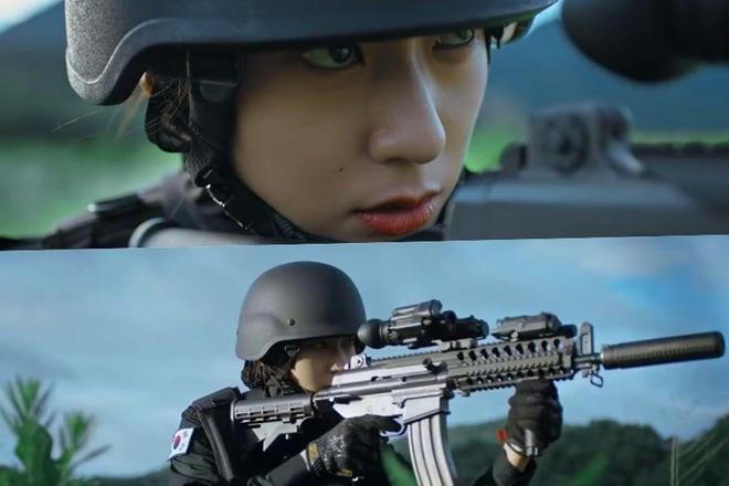 3 chị đại quân nhân ngầu bá cháy ở phim Hàn: Krystal đẹp đấy nhưng chưa gây thương nhớ bằng Trung úy Kim Ji Won - Ảnh 3.