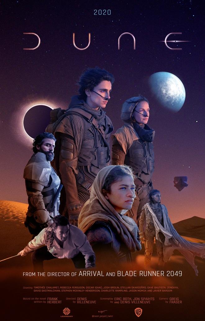 """Tất tần tật về bom tấn Dune: Chàng thơ Timothée Chalamet """"sát phạt"""" cả Thanos, phim gì đâu thấy toàn cát không! - Ảnh 2."""