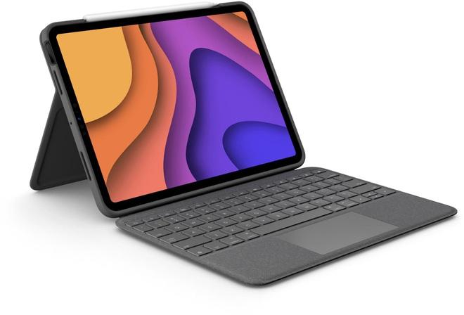 iPad Air 2020 vừa ra mắt, Logitech cũng có luôn bàn phím mới - Ảnh 1.