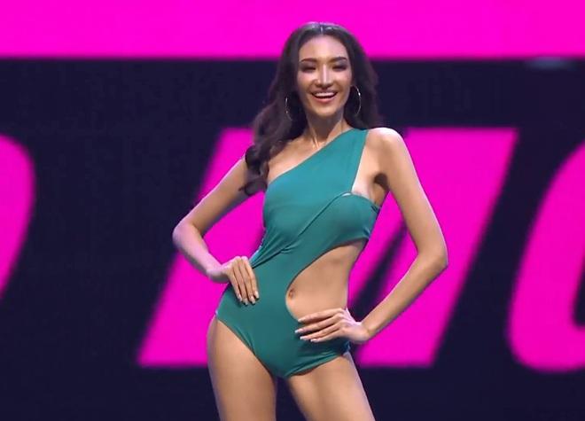 Vì áo tắm lởm của ban tổ chức, hàng loạt thí sinh Miss Grand Thailand 2020 lộ ngực trên sóng livestream - Ảnh 5.
